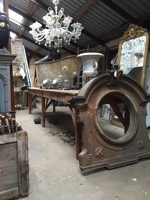 Oude Industriele Tafel.Oude Industriele Tafel Antieke Meubels Antieke Tafels Oude