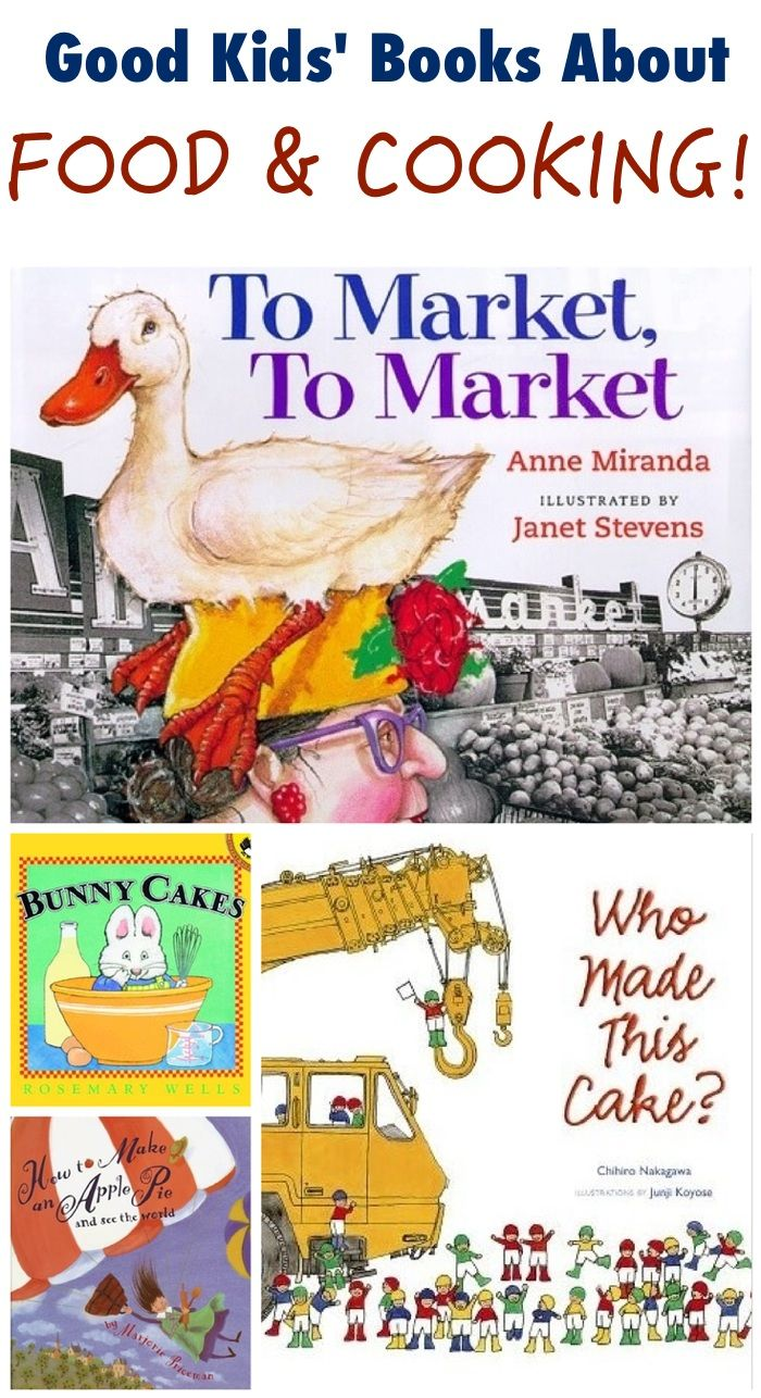 Books for children and even foodie grownups, about food and cooking - delicious!