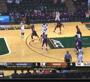 NCAA: grosse prestation de Manu Lecomte avec Miami Hurricanes - vidéo