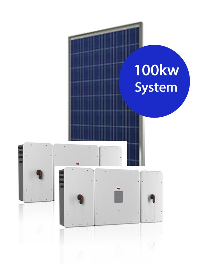100 kw Solar System - 316 x 315w Simax panels 2 x 50kw ABB Power Factor Correction inverters