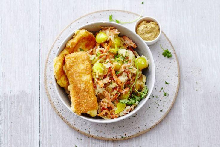Hutspot én kaas: wil je een avond Hollands koken (zonder vlees), dan is dit gerecht perfect. - Recept - Allerhande