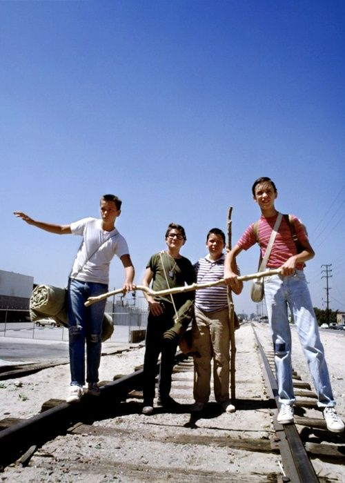 River Pheonix, Corey Feldman, Jerry O'Connell, and Wil Wheaton // Stand By Me…