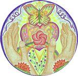 Mandala is een woord uit het Sanskriet, een taal uit het oude Indië, en betekent wiel of cirkel. Een symbool van oneindigheid met een binnen- en buitenwereld. Een mandala brengt aarde en kosmos samen via een samenspel van lijn, vorm en kleur. Een mandala is als het ware een blauwdruk van de oneindigheid van het bestaan. Energie wordt in beeld gebracht. In de oorspronkelijke vorm van de mandala zoalstoegepast in het Hindoeïsme en Boeddhisme bestaat de mandala uit magische diagrammen…