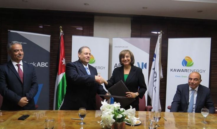 Bank ABC signs an agreement with Kawar Energy for PV solar project Bank ABC signed an agreement on Tuesday July 19th, 2016 with Kawar Energy – part of Kawar Group – to provide the bank's Head office and Amman branches with its energy needs through the use of photovoltaic cells. The agreement was signed by […] #middleeastbusinessnews