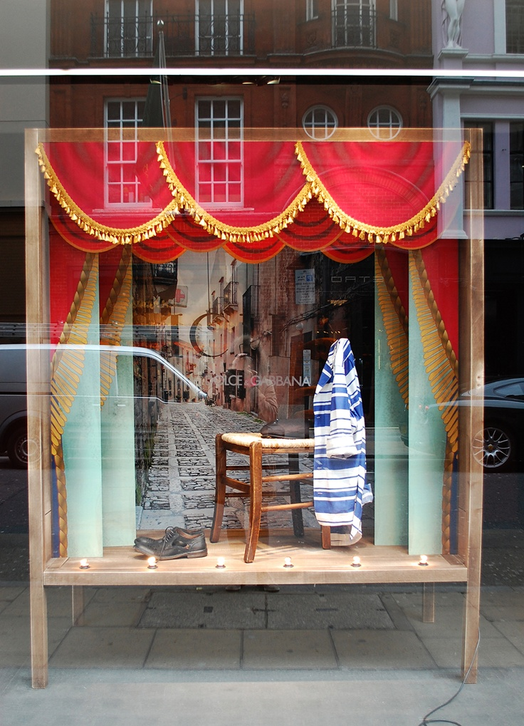 Dolce gabbana march 2013 london via for Window design 4 6
