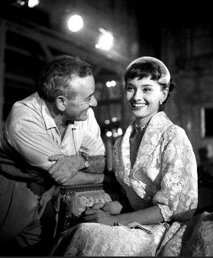 Audrey Hepburn, great smile!