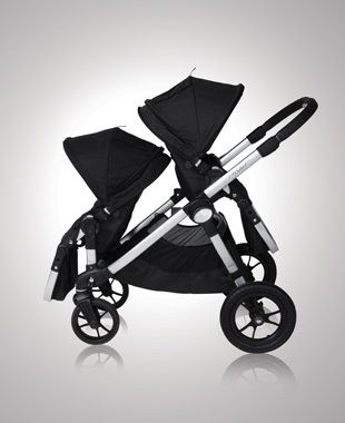 After months of research I finally settled on this double stroller.  I am completely satisfied with this purchase.  I've been using it now for 11 months and it's been so convenient.  I've used it as a single and a double.  I've positioned the seats every which way possible.  I usually position the 2 year old facing forward and the 10 month facing me.  Baby Jogger Select