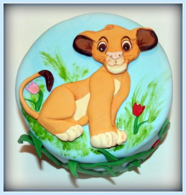 Birthday Cakes Lion King Children S Simba