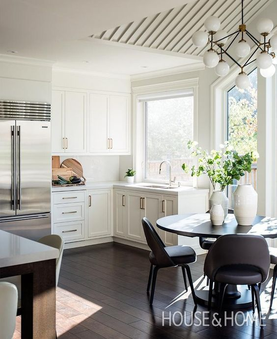 modern eat in kitchens ideas and favorites cottage family room rh pinterest com
