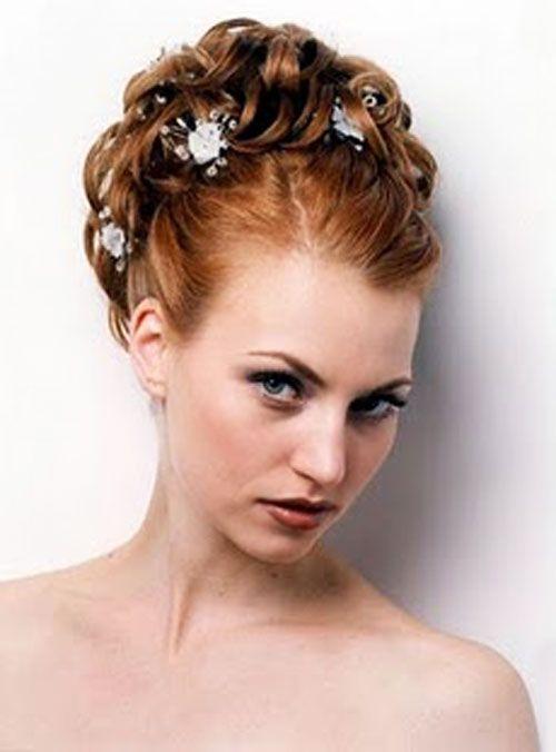 Updos For A Wedding Medium Length Party Rental King Hair Pinterest Peinados Elegantes