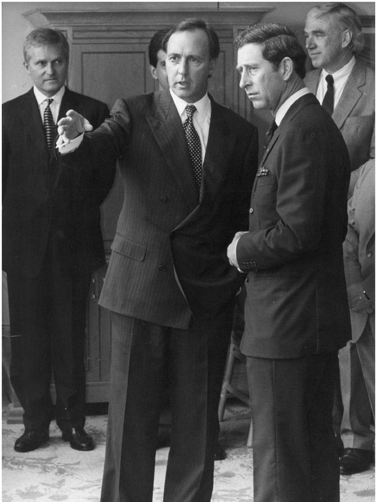 Prince Charles meets then prime minister Paul Keating during the 1994 visit.