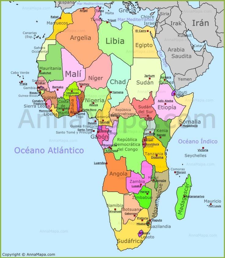staaten afrika