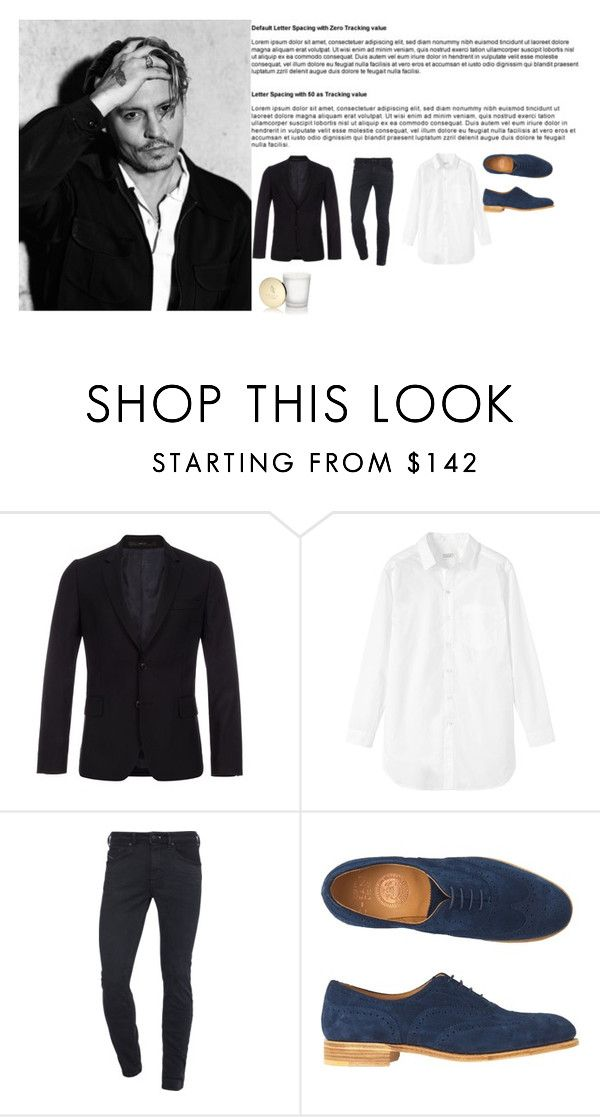 """Untitled #115"" by popescu-io on Polyvore featuring Paul Smith, Toast, Diesel and Bulgari"