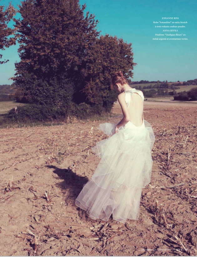 """French L'Officiel December/January 2012 
