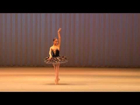 Miko Fogarty, 16, Moscow IBC 2013 Gold Medalist - Black Swan - - YouTube