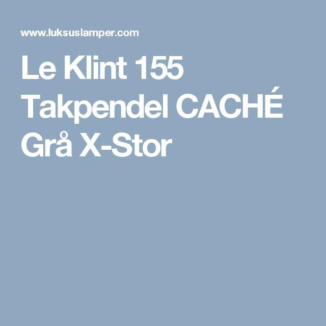 Le Klint 155 Takpendel CACHÉ Grå X-Stor