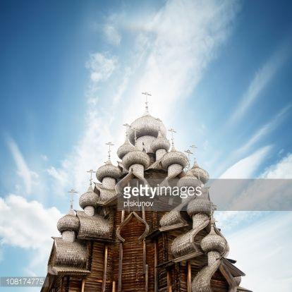 Iglesia de la transfiguración en de Kizhi, Rusia