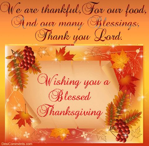 Thanksgiving Blessing quote autumn fall thanks list grateful blessing thankful thanksgiving holidays poem