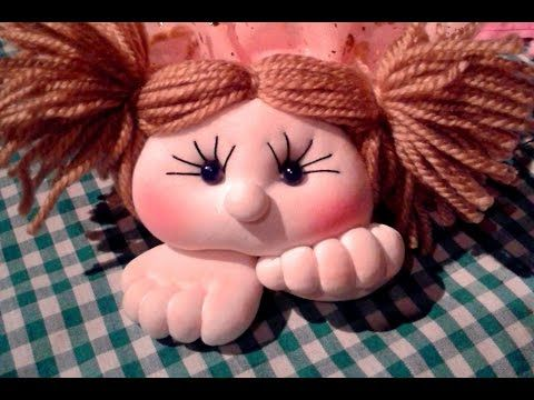muñecos soft - Tutorial como rizar lana ,video:5 - YouTube