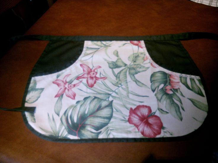 Costura: delantal para las pinzas de la ropa. Patrón gratuito encontrado en…
