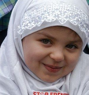 beautiful little children pictures | Muslim chastity training of little girls