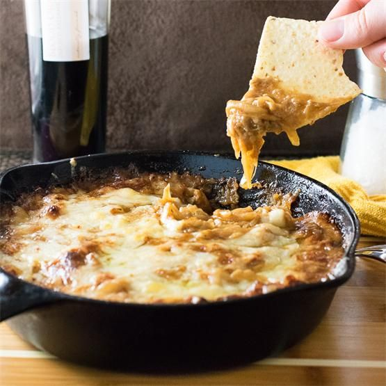 Baked #Caramelized #OnionDip with Gruyere Cheese by @foxvalleyfoodie - #KeepOnCooking #Appetizers #Dairy #Cheese #Vegetarian