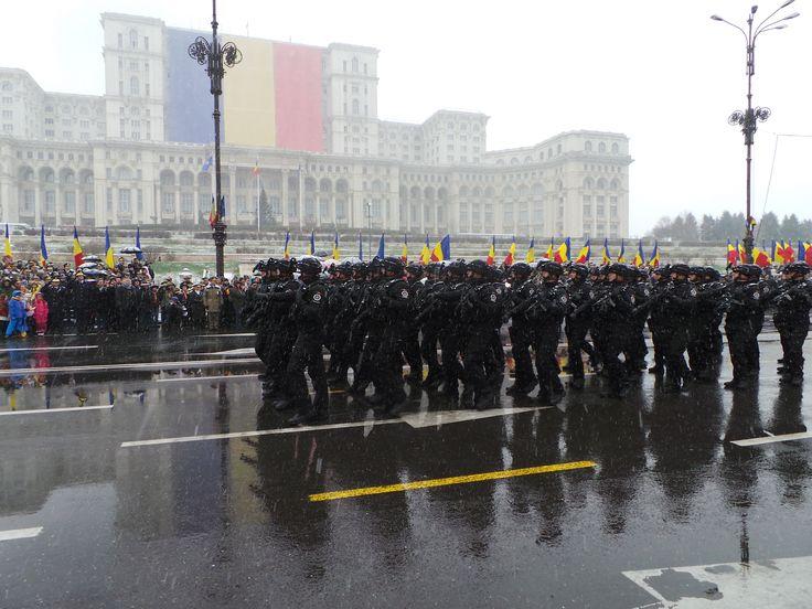 SRI a fost reprezentat la parada militară din Piaţa Constituţiei de către Brigada Antiteroristă.