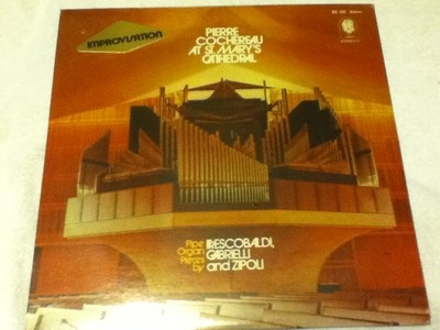 Pierre Cochereau at St. Mary's Cathedral Improvisation LP New 1974