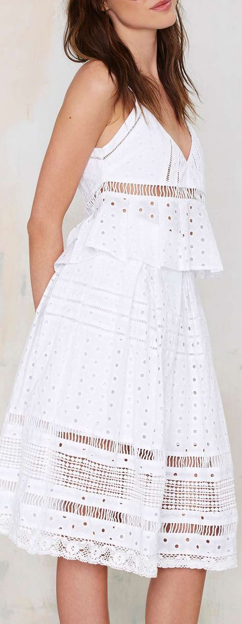 eyelet midi skirt * really cute ..