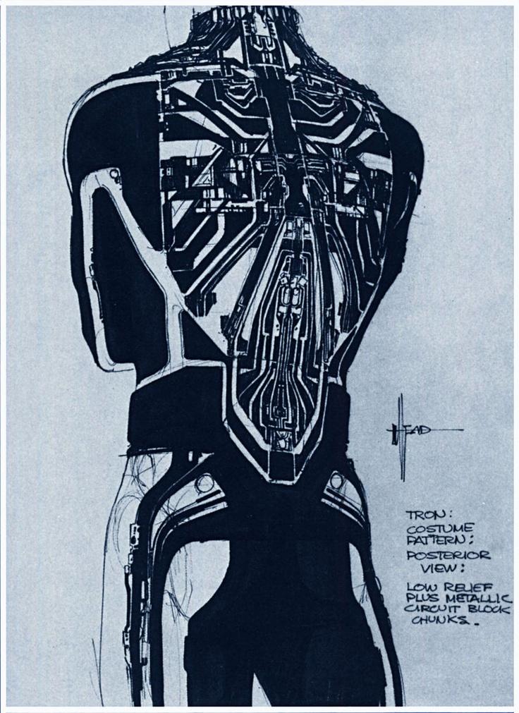 80年代「トロン」のコンセプトデザイン