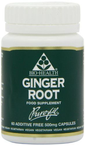 Bio-Health 500mg Ginger Root Powdered - Pack of 60 Capsules - http://alternative-health.kindle-free-books.com/bio-health-500mg-ginger-root-powdered-pack-of-60-capsules/