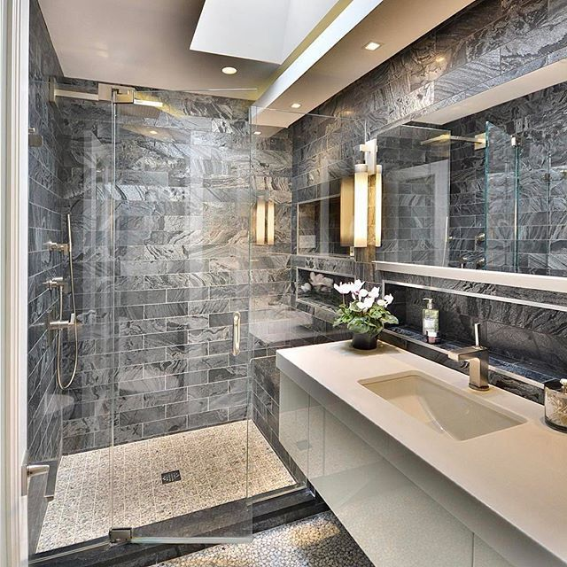sumptuous design ideas bathroom vanities richmond hill. Ami Designs created this contemporary master bathroom with walk in shower 322 best Bathroom Interior Design images on Pinterest