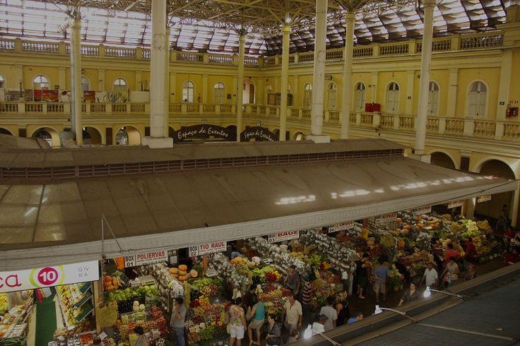 ✿⊱♥ Mercado Público de Porto Alegre - Rio Grande do Sul - Brasil