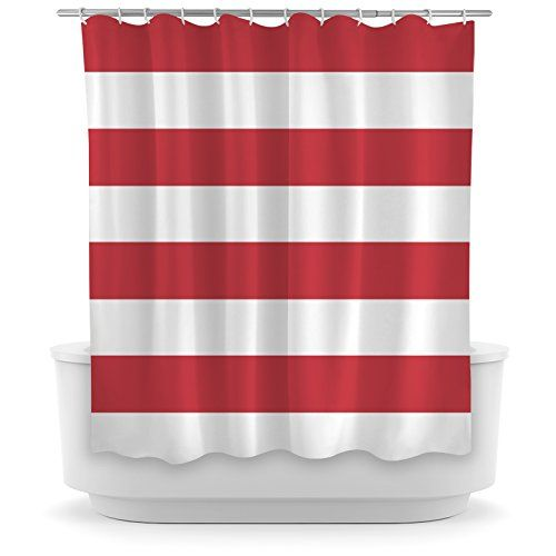 Opima Red And White Striped Shower Curtain Opima Home Http://www.amazon