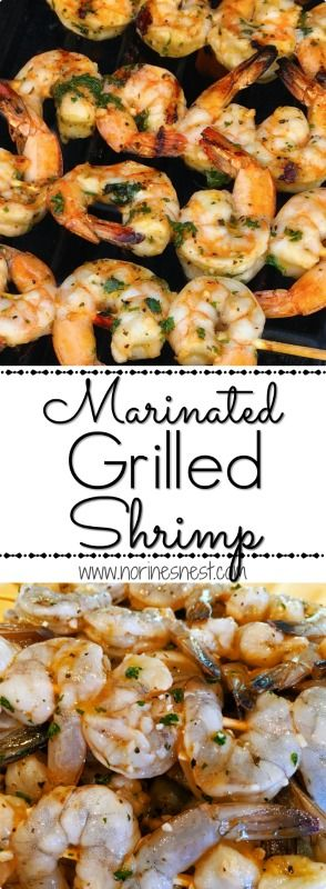 Plump Juicy Shrimp are marinated in a citrus garlic marinade and grilled to perfection! Easy and Beyond Delicious! Wonderful Summer time Grill recipe.