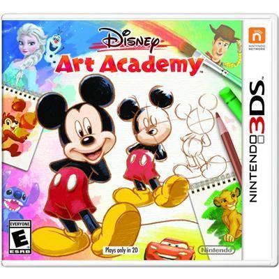 Disney Art Academy 3DS (CTRPBWDE)
