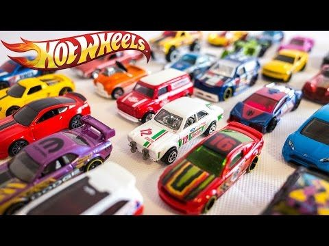 HOT WHEELS Toy Cars for Kids | Toys & Games Video - YouTube