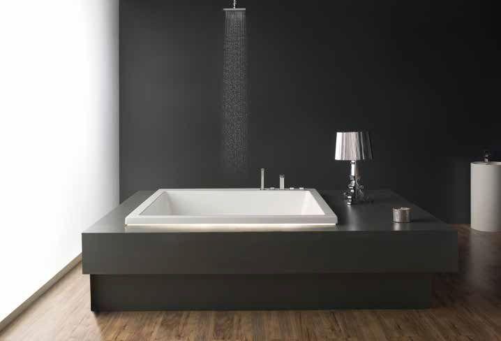 Une baignoire carrée ACRILAN PRINCESSE au design moderne et esthétique minimaliste Une spacieuse baignoire qui accueille le corps dans une expérience unique. Peut être équipé de système hydromassage et robinetterie placé sur le bord de la baignoire Dimensions: 1650x1650x570 mm Volume 700 Lt 6-8 jets d'hydromassage 12 jets d'air-massage