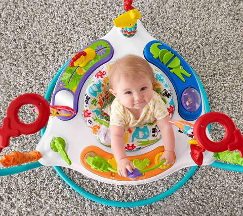 It S A Jungle In There Your Baby Will Go Wild Visiting This Exciting Jungle And All Its Fun Activities A Animal Activities Fisher Price Baby Stuffed Animals