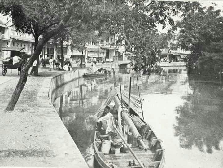 Kali Ciliwung tempo dulu, Jakarta