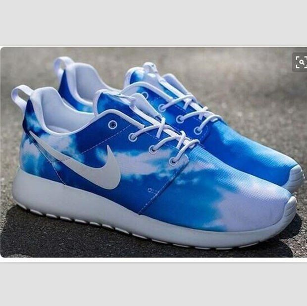NIKE Women Men Running Sport Casual Shoes Sneakers Sky Blue