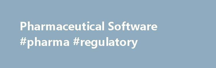 Pharmaceutical Software #pharma #regulatory http://pharma.remmont.com/pharmaceutical-software-pharma-regulatory/  #pharma software # Pharmaceutical Software Pharmaceutical Software challenges are unique The pharmaceutical market is worth around US$980 billion per year, and continues to steadily rise. We understand these continuous changes and the regulations associated with the pharmaceutical industry, and have devised a system that will help you gain insight into your daily pharmaceutical…