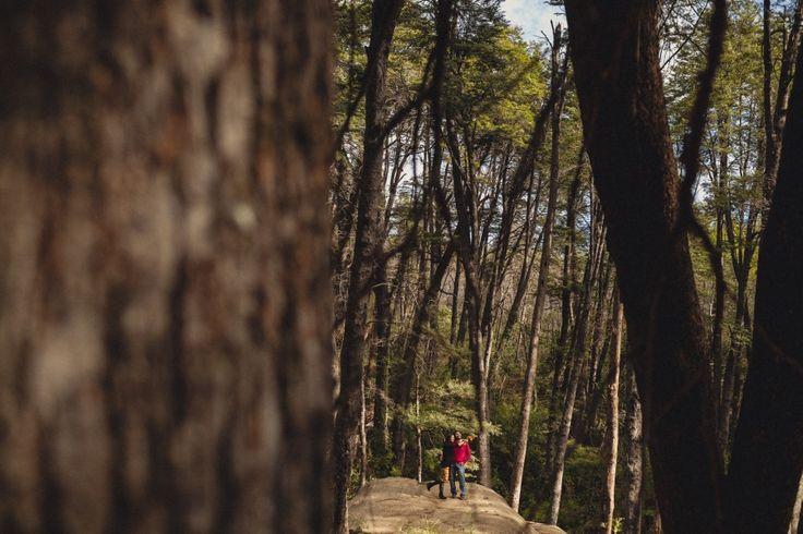 Preboda novios en Altos de Lircay, Talca {Fran + Max}