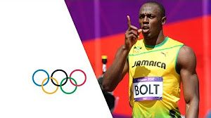Usain Bolt Breaks 3 World Records | Beijing 2008 Olympics - YouTube