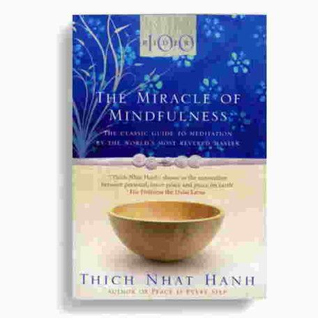 I recently started reading The Miracle of Mindfulness for the second time and it does not disappoint. Spawned from a letter written by Buddhist Monk and Nobel Peace Prize Nominee Thich Nhat Hahn (pronounced Tik · N'yat · Hawn), The Miracle of Mindfulness describes the practice of mindfulness through anecdotes whilst also providing practical exercises with the aim to help people arrive at greater sense of self-understanding and peacefulness, regardless of their religious beliefs.