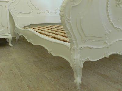 Ateliando - Customização de móveis antigos: Cama Arte Nouveau  Detalhes e perfeição Ateliando no Tempo!