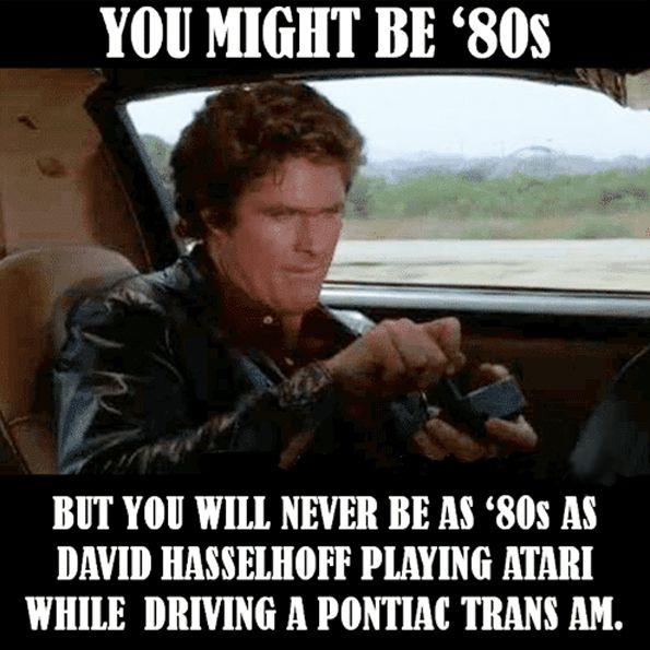 David Hasselhoff Knight Rider Childhood Memories Kid Memes