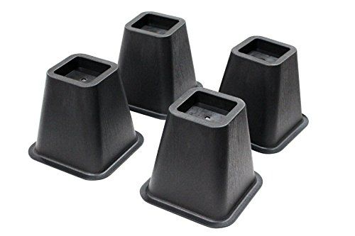 Best price on Jeronic 4-pack 5.25 Inch Adjustable Bed Risers, Furniture Riser Bed Riser and Bed Lifts  See details here: http://allfurnitureshop.com/product/jeronic-4-pack-5-25-inch-adjustable-bed-risers-furniture-riser-bed-riser-and-bed-lifts/    Truly a bargain for the inexpensive Jeronic 4-pack 5.25 Inch Adjustable Bed Risers, Furniture Riser Bed Riser and Bed Lifts! Look at at this low cost item, read buyers' feedback on Jeronic 4-pack 5.25 Inch Adjustable Bed Risers, Furniture Riser Bed…