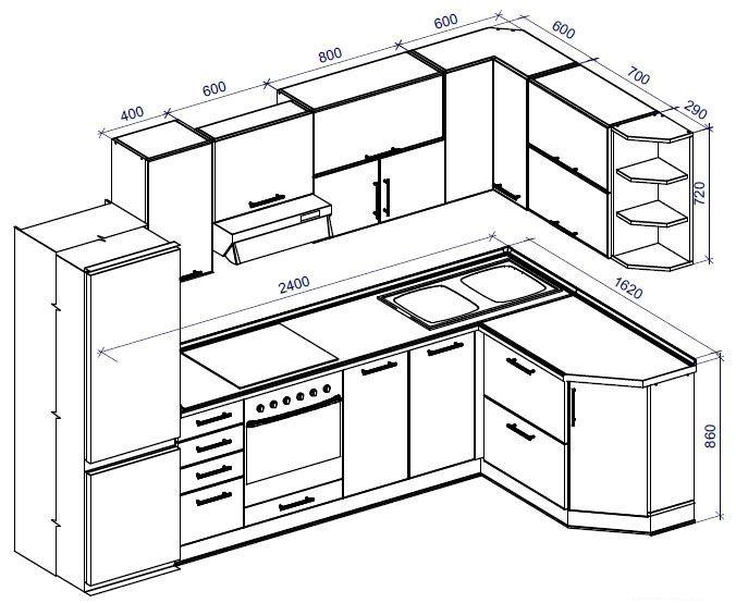 угловая кухня своими руками: 13 тыс изображений найдено в Яндекс.Картинках