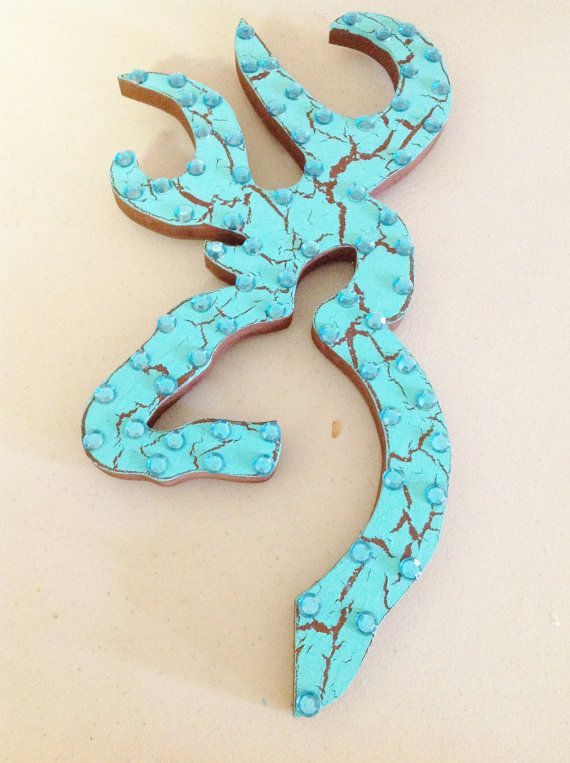 Browning Emblem Wall Decor by TheCrossedCupcake on Etsy, $15.00